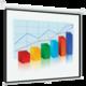Экран проекционный DIGIS OPTIMAL-B, матовый, настенный, 150×200 см, 4:3