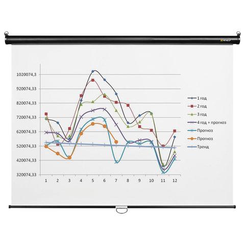 Экран проекционный DIGIS OPTIMAL-C, матовый, настенный, 180х180 см, 1:1
