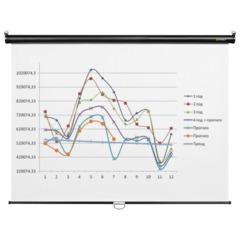 Экран проекционный DIGIS OPTIMAL-C, матовый, настенный, 200×200 см, 1:1