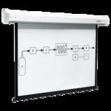 Экран проекционный DIGIS ELECTRA, матовый, настенный, электропривод, 200×200 см, 1:1
