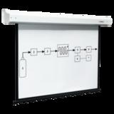 Экран проекционный DIGIS ELECTRA, матовый, настенный, электропривод, 129×232 см, 16:9