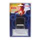 Штамп самонаборный 4-строчный оттиск 38×14 мм синий, без рамки, COLOP PRINTER С20-Set, касса в комплекте