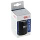 Оснастка для печатей, оттиск D=40 мм, синий, COLOP PRINTER R40, корпус черный, крышка