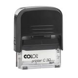 �������� ��� ������, ������ 47×18 ��, �����, COLOP PRINTER 30 Compact, ������� � ���������, ������ ������