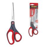 Ножницы SCOTCH «Precision», 200 мм, для точной резки, эргономичные, подшипник, красные, европодвес
