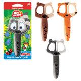 Ножницы ERICH KRAUSE Artberry «Animals», 120 мм, безопасные, закругленные детские, ассорти, блистер