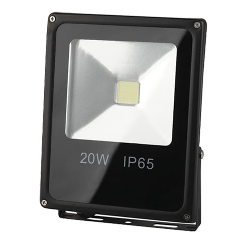 """Прожектор светодиодный """"ЭРА"""", 20 Вт, 6500 К, 35000 ч., класс защиты IP65"""