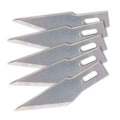 Лезвия для ножей-скальпелей, 8 мм, BRAUBERG, комплект 5 шт., в блистере
