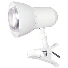 Светильник настольный «Надежда-1 Мини», на прищепке, лампа накаливания/<wbr/>люминесцентная/<wbr/>светодиодная, до 40 Вт, белый, Е27