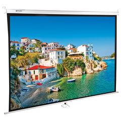 Экран проекционный BRAUBERG WALL, матовый, настенный, 150×200 см, 4:3