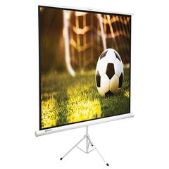 Экран проекционный BRAUBERG TRIPOD, матовый, на треноге, 150×150 см, 1:1