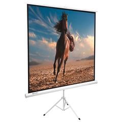 Экран проекционный BRAUBERG TRIPOD, матовый, на треноге, 200×200 см, 1:1