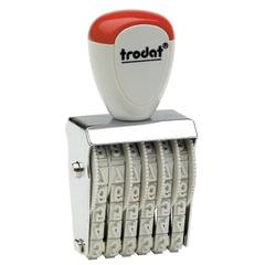 Нумератор ручной ленточный, 6 разрядов, оттиск 27×4 мм, TRODAT 1556