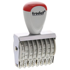 Нумератор ручной ленточный, 8 разрядов, оттиск 38×5 мм, TRODAT 1558