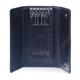 Футляр для ключей SERGIO BELOTTI, натуральная кожа, застежка — 2 магнитные кнопки, 57×130×20 мм, черный