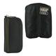 Футляр для ключей FABULA «Brooklyn», натуральная кожа, контрастная отстрочка, молния, 140×70 мм, черный