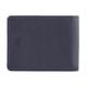 Портмоне мужское FABULA «Brooklyn», натуральная кожа, контрастная отстрочка, кнопка, 117×93 мм, синее
