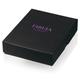 Портмоне мужское FABULA «Estet», натуральная кожа, застежка-кнопка, 120×95 мм, черное