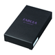 Футляр для ключей FABULA «Kansas», натуральная кожа, контрастная отстрочка, 2 кнопки, 60×125×15 мм, черный