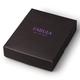 Портмоне женское FABULA «Friends», натуральная кожа, молния, тиснение, 130×100 мм, грейпфрут