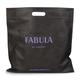 Портмоне женское FABULA «Talisman», натуральная кожа, кнопка, геометрическое тиснение, 200×95 мм, голубое