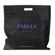 Портмоне женское FABULA «Astra», натуральная кожа, кнопка, декоративное тиснение, 205×105 мм, черное