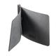 Зажим для купюр BEFLER «Classic», натуральная кожа, тиснение «знак евро», 105×86 мм, черный