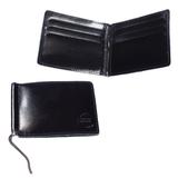 Зажим для купюр BEFLER «Classic», натуральная кожа, тиснение «знак евро», 120×86 мм, черный