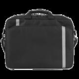 Сумка деловая для офиса и учебы DEFENDER «Shiny», отделение для планшета и ноутбука, 15,6, 39×28,5×4 см, ткань, черная