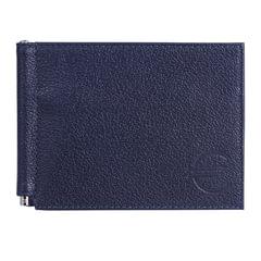 Зажим для купюр BEFLER «Грейд», натуральная кожа, тиснение, 120×86 мм, синий