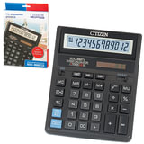 Калькулятор CITIZEN настольный SDC-888TII, 12 разрядов, двойное питание, 203×158 мм