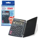 Калькулятор STAFF карманный STF-638, 8 разрядов, двойное питание, 120×75 мм