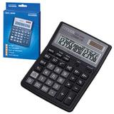 Калькулятор CITIZEN настольный SDC-395N, 16 разрядов, двойное питание, 192×143 мм