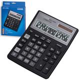 Калькулятор CITIZEN настольный SDC-435N, 16 разрядов, двойное питание, 204×158 мм