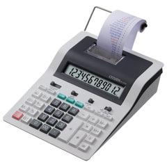 Калькулятор CITIZEN печатающий CX-121N, 12 разрядов, 260×194 мм (бумажный ролик 110364, картридж 250197)