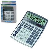 Калькулятор CITIZEN настольный CDC-112WB, 12 разрядов, двойное питание, 120×72 мм