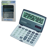 Калькулятор CITIZEN карманный CTC-110WB, 10 разрядов, двойное питание, 106×63 мм