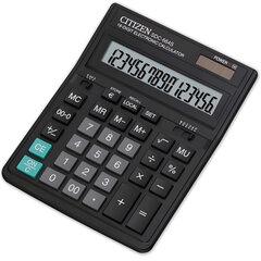 Калькулятор CITIZEN настольный SDC-664S, 16 разрядов, двойное питание, 199×153 мм