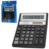 Калькулятор CITIZEN настольный SDC-888ХBK, 12 разрядов, двойное питание, 205×159 мм, черный