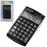 ����������� CITIZEN ��������� CPC-112BKWB, 12 ��������, ������� �������, 120×72 ��, ������