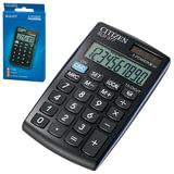 Калькулятор CITIZEN карманный SLD-377BP, 10 разрядов, двойное питание, 105×64 мм