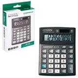 Калькулятор CITIZEN настольный Correct SD-212, 12 разрядов, двойное питание, 103×138 мм, черный