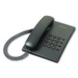 Телефон PANASONIC KX-TS2350RUB, черный, повторный набор, тональный/<wbr/>импульсный режим