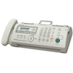 Факс PANASONIC KX-FP218 RUB, печать на обычной бумаге 70-80 г/<wbr/>м<sup>2</sup>, А4, АОН, автоответчик
