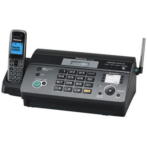 Факс PANASONIC KX-FC968RU, термобумага (рулон), АОН, автоответчик, спикерфон, DECT-трубка (10-100 м)
