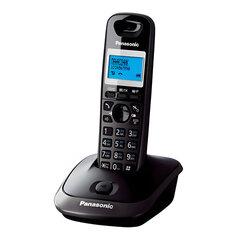 Радиотелефон PANASONIC KX-TG2511RUT, память 50 номеров, АОН, повтор, спикерфон, полифония, радиус 10-100 м, цвет титановый