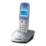 Радиотелефон PANASONIC KX-TG2511RUS, память 50 номеров, АОН, повтор, спикерфон, полифония, радиус 10-100 м, цвет серебристый