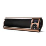 Аудиосистема портативная SUPRA PAS-6255, мощность 5 Вт, FM-тюнер, МР3, WMA, USB/<wbr/>SD/<wbr/>AUX, будильник, диктофон, коричневая
