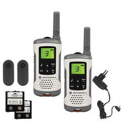 Радиостанция MOTOROLA T50, до 6 км, шумоподавление, 8 каналов, комплект 2 шт.