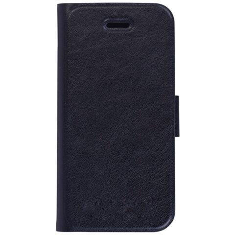 Чехол-обложка для телефона iPhone 5/<wbr/>5S SONNEN, кожзаменитель, горизонтальный, черный